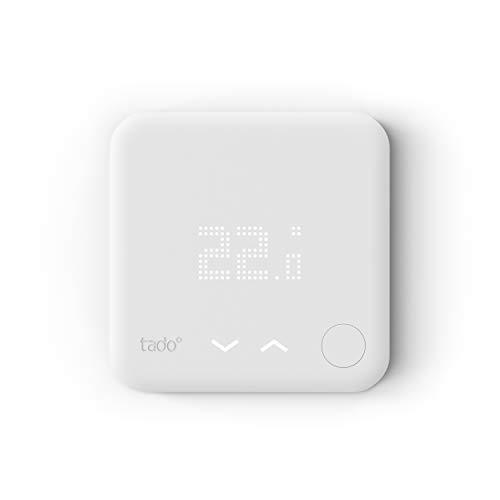 tado° Smartes Thermostat (Verkabelt) - Zusatzprodukt für Einzelraumsteuerung, Einfach selbst zu installieren