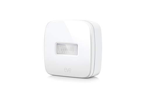 Eve Motion - Smarter Bewegungssensor mit IPX3-Wasserbeständigkeit, Mitteilungen, automatische Aktivierung einzelner Geräte und Szenen, keine Bridge erforderlich, Bluetooth Low Energy (Apple HomeKit)