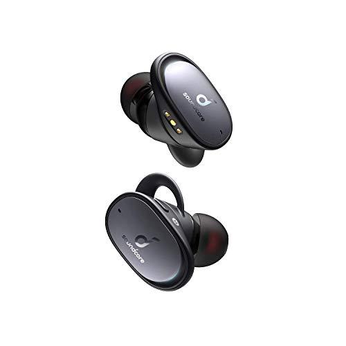 Soundcore Anker Liberty 2 Pro, True Wireless In-Ear Kopfhörer, Bluetooth Ohrhörer, Astria Coaxial Acoustic Architecture, 32 Std Akku, personalisierter EQ, HearID, kabelloses Laden(Schwarz)