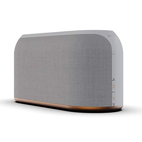 JAYS Multiroom Bluetooth Lautsprecher System - s-Living Three Weiß WLAN Speaker für Musik, TV und Stream