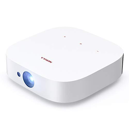 Anker Nebula Solar Portable 1080p Projektor, Dolby Digital Plus, 2X 3W Lautsprecher, Android TV, integrierte Halterung, Autofokus, Trapezkorrektur, Digitaler Zoom