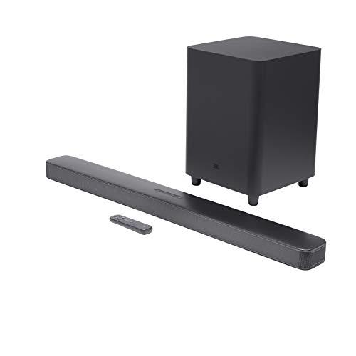 JBL Bar 5.1 Surround – Sound Bar mit Subwoofer in Schwarz – Mit MultiBeam-Technologie und Airplay 2 und Alexa-Integration