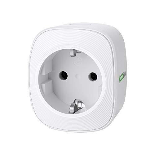 VOCOlinc Smart Plug Wi-Fi Steckdose funktionieren mit HomeKit (iOS12 or +) Alexa & Google Assistant Energieüberwachung Timer Kein Hub erforderlich 10A 2300W 2.4GHz (1)