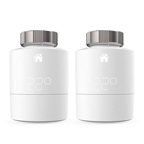 Tado Smartes Heizkörper-Thermostat, Weiß (Duo Pack, Zusatzprodukte für Einzelraumsteuerung, intelligente Heizungssteuerung)