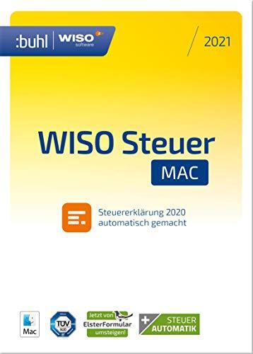 WISO Steuer-Mac 2021 (für Steuerjahr 2020 | Mac Aktivierungscode per Email)