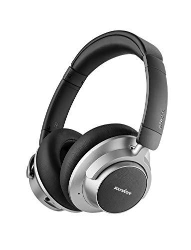 Soundcore Space NC Bluetooth Kopfhörer von Anker, mit Geräuschunterdrückung, Touch Control, 20 Stunden Akkulaufzeit, für Reisen, Büro, Zuhause und viel mehr