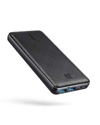 Anker PowerCore Essential 20000 Powerbank, 20000mAh externer Akku mit PowerIQ Technologie und USB-C Eingang, enorme Energiedichte, kompatibel mit iPhone, Samsung Galaxy, iPad und mehr