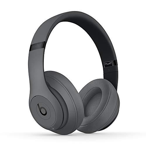 BeatsStudio3Over-EarBluetooth Kopfhörer mit Noise-Cancelling– AppleW1Chip, Bluetooth der Klasse1, aktives Noise-Cancelling, 22Stunden Wiedergabe– Grau
