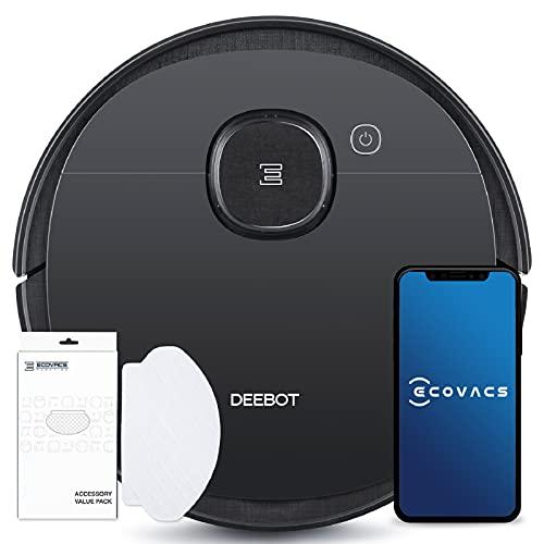 ECOVACS DEEBOT OZMO 950 - Care - Saug- & Wischroboter + 50 Reinigungstücher - mit intelligenter Navigation - Google Home, Alexa- & App-Steuerung