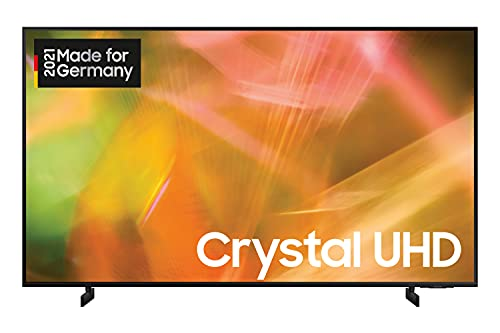 Samsung Crystal UHD 4K TV 75 Zoll (GU75AU8079UXZG), HDR, AirSlim, Dynamic Crystal Color [2021]