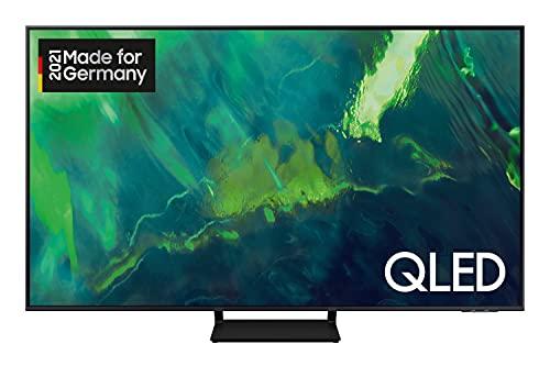 Samsung QLED 4K Q70A TV 55 Zoll (GQ55Q70AAUXZG), Quantum HDR, Quantum Prozessor 4K, Motion Xcelerator Turbo+ [2021]