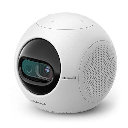 NEBULA Astro Mini-Beamer, Kleiner Projektor, ideal für Kinder, mit 100 ANSI Lumen, Android 7.1, Starke 2,5 Std Akkuleistung
