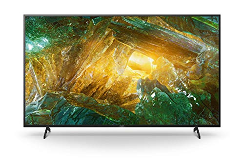 Sony KE-65XH8096 / KD-65XH8096 Bravia 164 cm (65 Zoll) Fernseher (Android TV, LED, 4K Ultra HD (UHD), High Dynamic Range (HDR), Smart TV, Sprachfernbedienung)