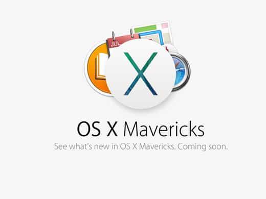 News zum Mac Betriebssystem OS X Mavericks
