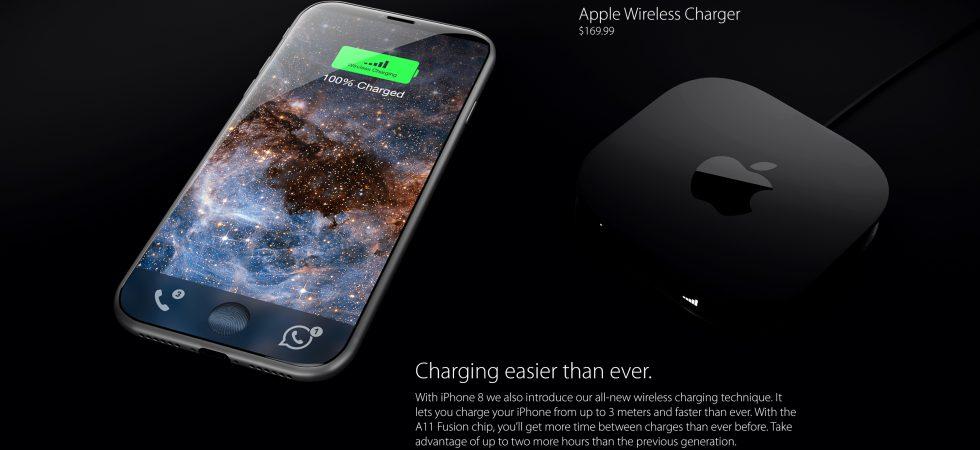 iPhone 8: Wireless Charging könnte sich nun doch verspäten