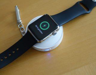 Review: Apple Watch Powerbank mit integriertem Wireless Charging