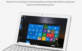 Cube Mix Plus: Windows 10-Tablet mit Intel Kaby Lake-CPU für 362 Euro