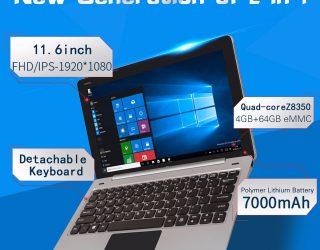 Jumper EZpad 6 kaufen: Windows 10-Tablet für 140 Euro