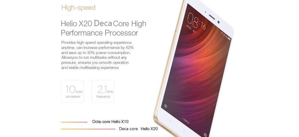 Xiaomi Redmi Note 4 kaufen: 4g-Smartphone mit 13 Megapixel-Kamera und Fingerabdrucksensor für 160 Euro