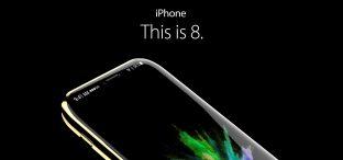 Must-See: iPhone 8 Konzept zeigt randloses Display
