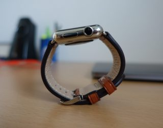 Review: Apple Watch Echtleder-Armband aus Bayern