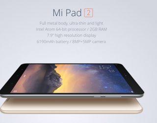 XiaoMi Mi Pad 2 kaufen: Tablet mit acht Megapixel-Kamera für 153 Euro