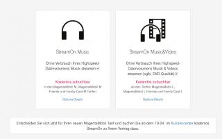 StreamOn: Neue Partner im Februar, Zukunft bleibt ungewiss
