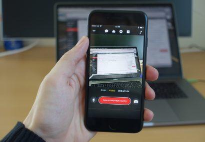 Apple aktualisiert Clips zur Unterstützung von Kinomodus und ProRes am iPhone 13