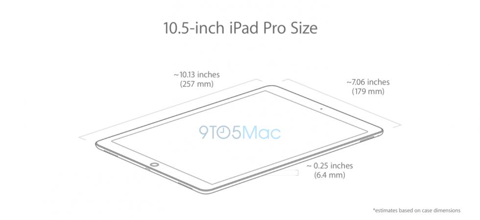 Spannend: Leaks zum 10,5 iPad aufgetaucht