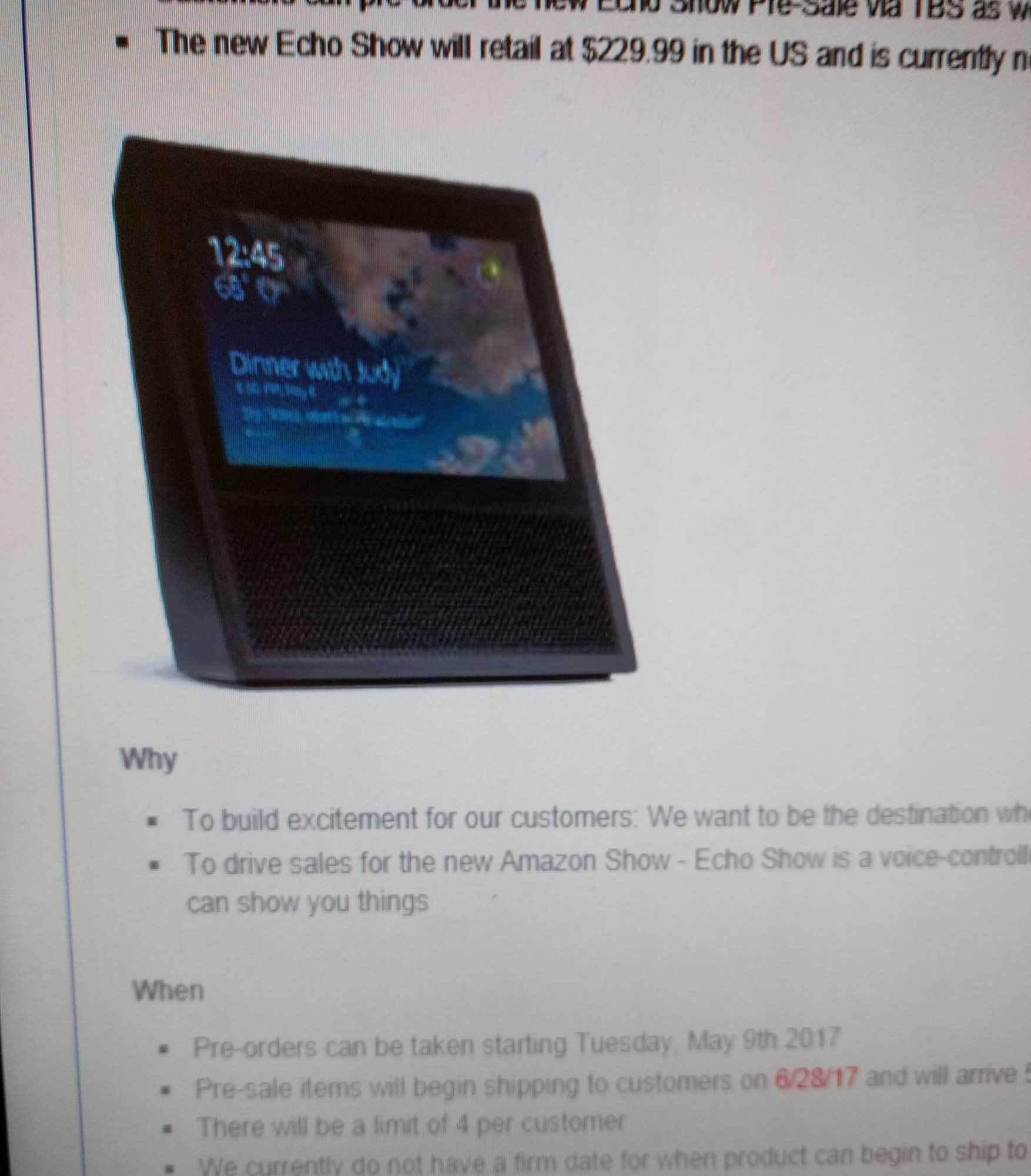Amazon Echo Show (Verpackung) - aftvnews.com