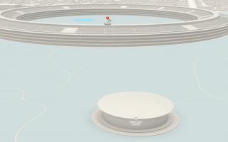 Drohne und Apple geben Sneak Peak vom fertigen Apple Campus