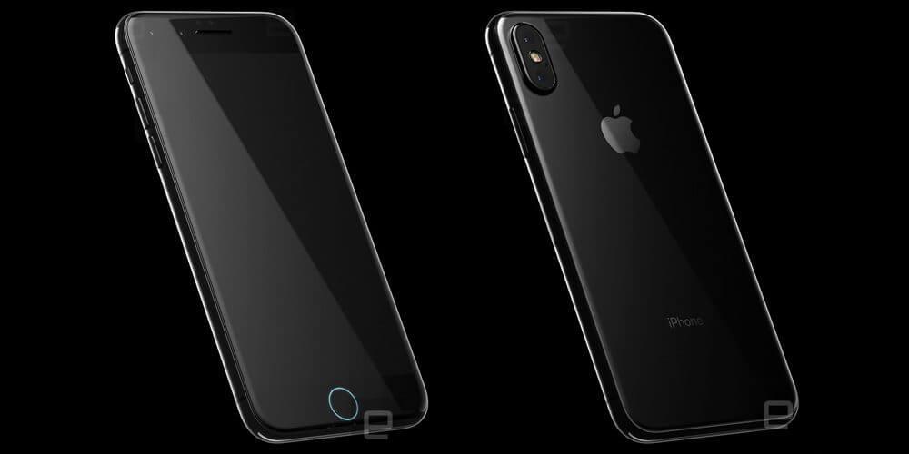 iPhone 8 Konzept (Vorderseite-Rückseite) - 9to5mac.com