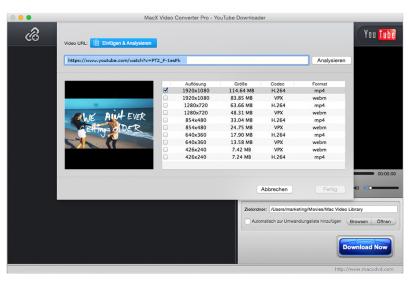7 Jahre Jubliäum: MacX Video Converter Pro für kurze Zeit kostenlos