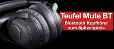 Video: Bluetooth NOISE CANCELLING Kopfhörer zum Spitzenpreis – Teufel MUTE BT (Review)