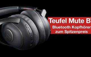 Video: Bluetooth NOISE CANCELLING Kopfhörer zum Spitzenpreis – Teufel MUTE BT (Review)