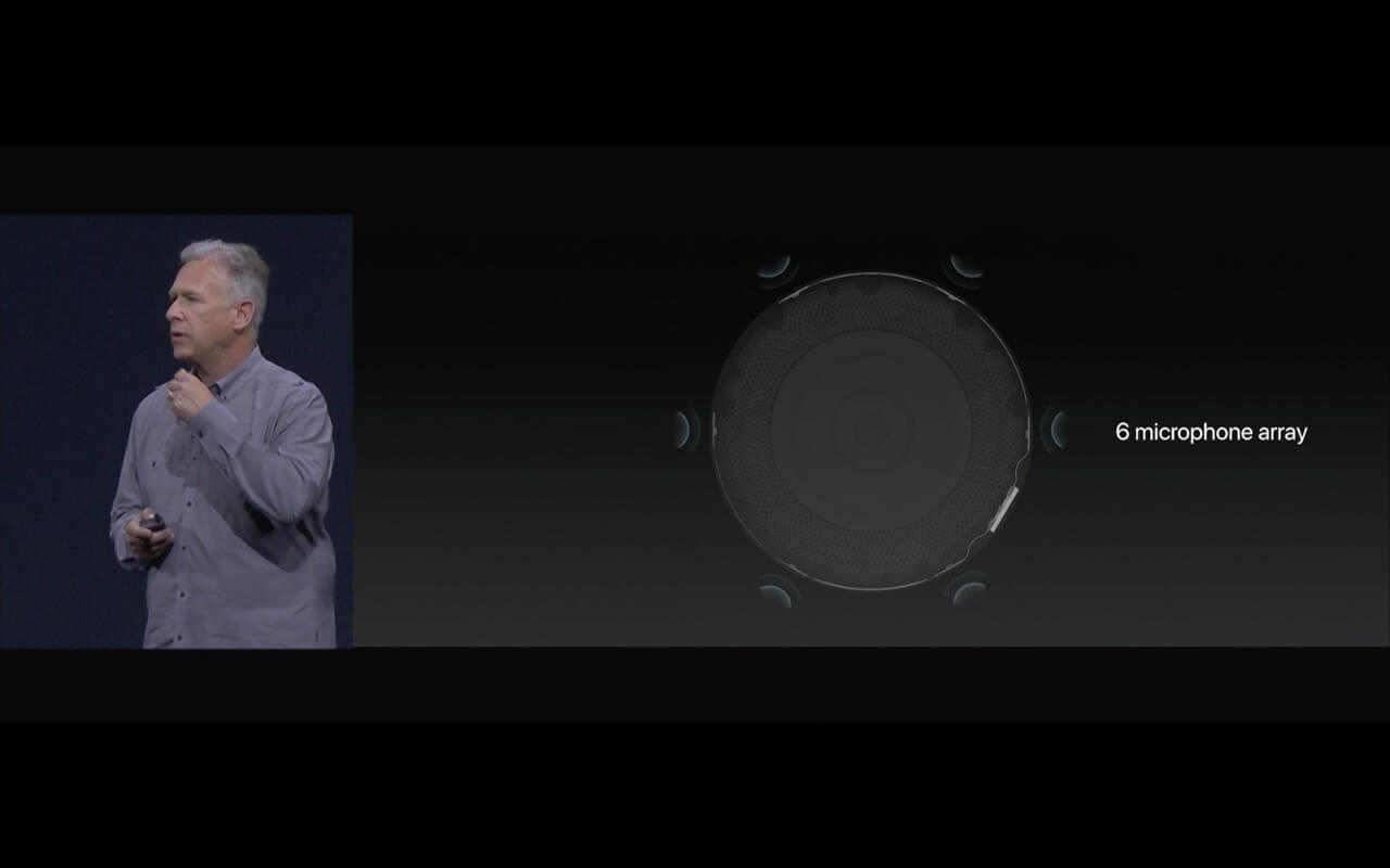 WWDC - Der HomePod hat sechs Mikrofone -Screenshot - WakeUp Media