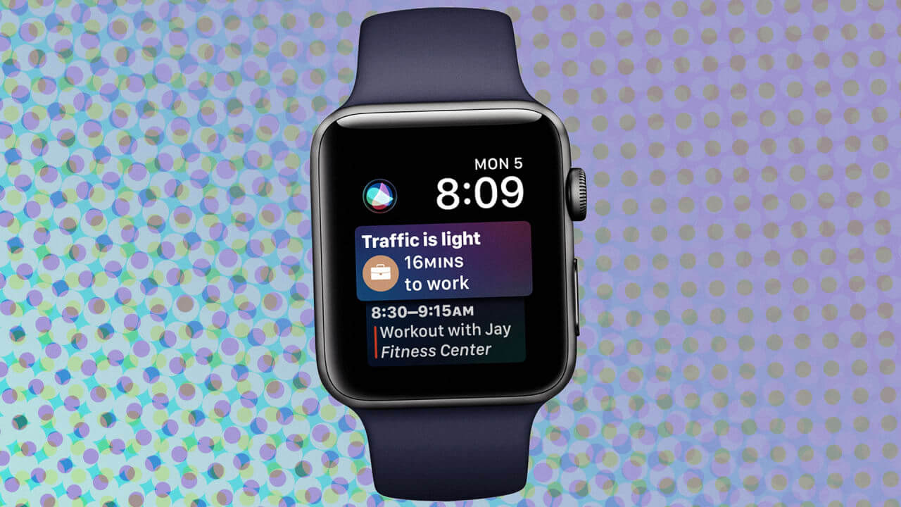 watchOS 4 Apple Watch