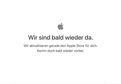 Breaking: Apple Online Store down – Kommen neue iPads oder AirPods?