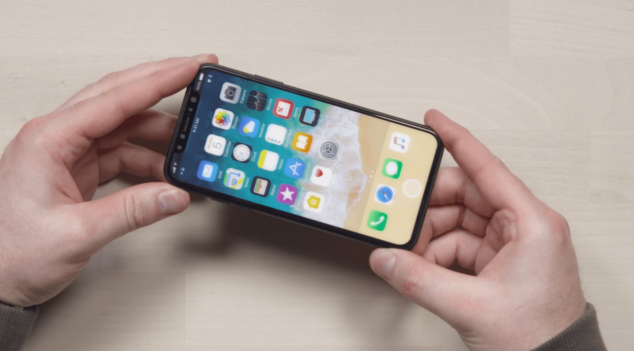 iPhone 8 Prototyp aus Unbox Therapy Video