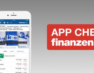 Die Börse immer im Blick – App Check finanzen.net