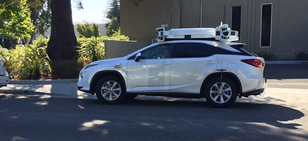 Eine Menge Sensoren auf dem Dach: Apple schickt erneut Autos durch Kalifornien