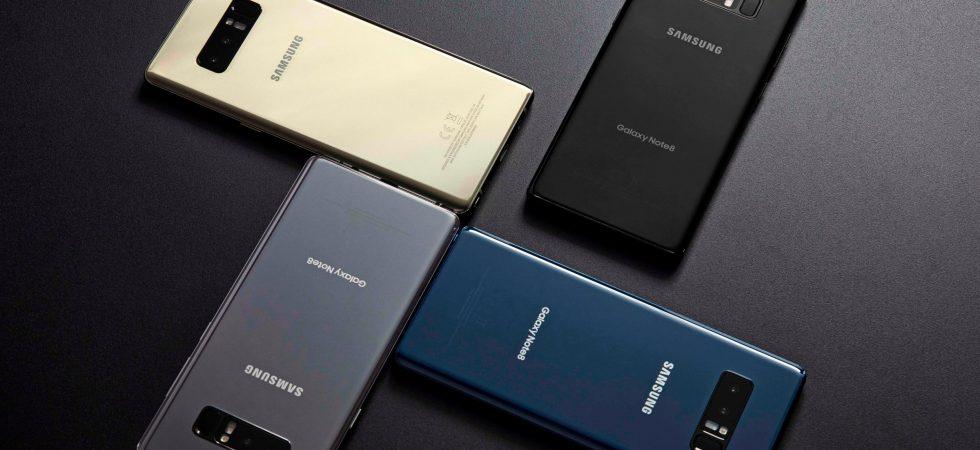 Tellerrand: Samsung präsentiert Note 8 und stichelt gegen Apple