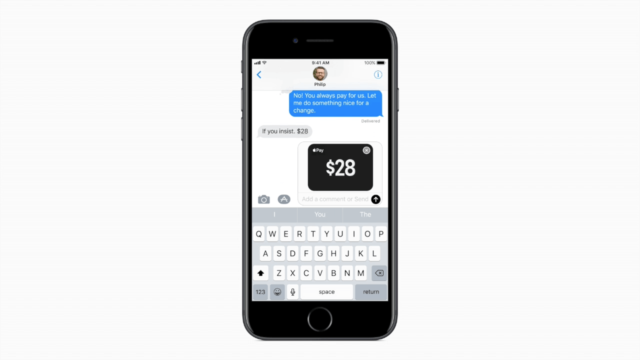 Apple Pay Cash via Ausweis