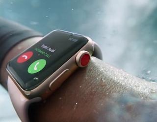 Apple Watch ganz oben: LTE macht die Uhr zum Renner