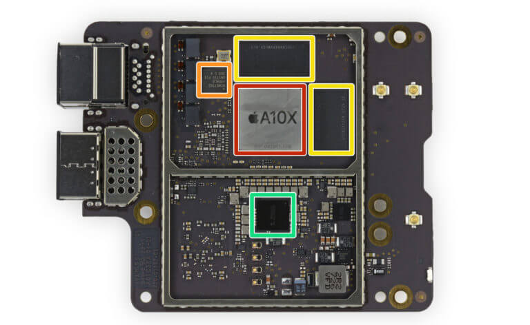 Apple TV 4K Prozessor - iFixit