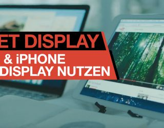 iPad oder iPhone als Display/Monitor verwenden (mac/Windows) – App Check DUET Display