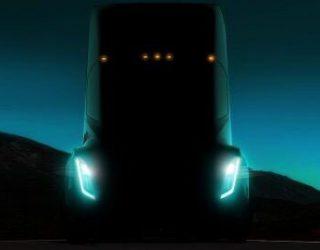 Oha: Bilder vom Tesla LKW aufgetaucht