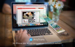 BackUp, Datenverwaltung und mehr: AnyTrans ist die Kombination aus iTunes und iCloud