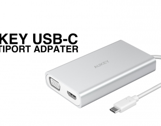 Aukey USB-C Multiport Adapter – Review