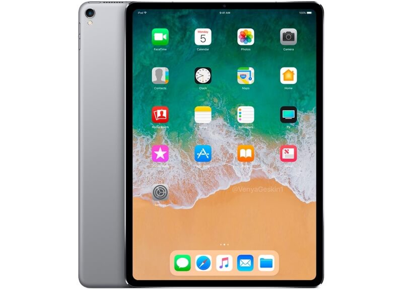 Randloses iPad- Entwurf  Benjamin Geskin
